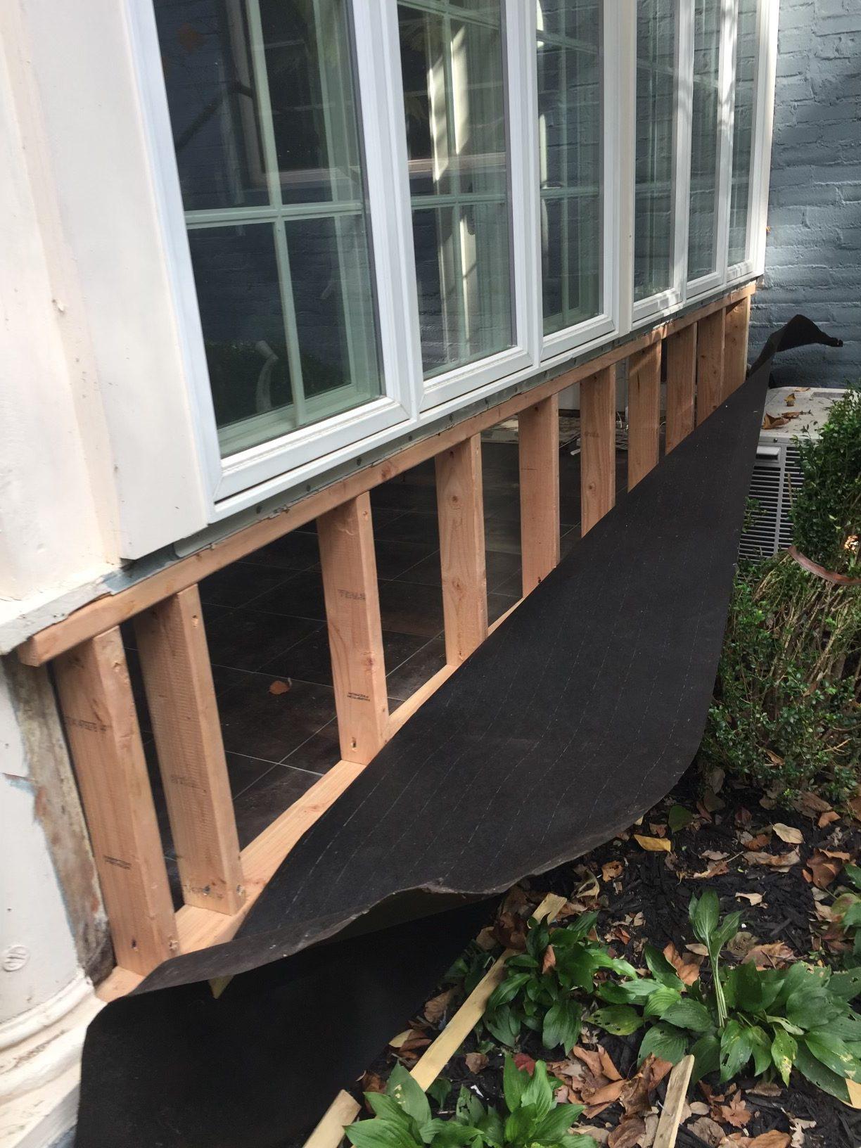 Window Framing Repair
